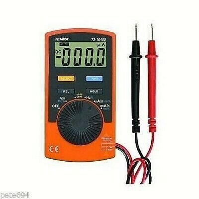 Tenma 72-10395 Acdc Digital Multimeter Wfreq Current Capacitor Test