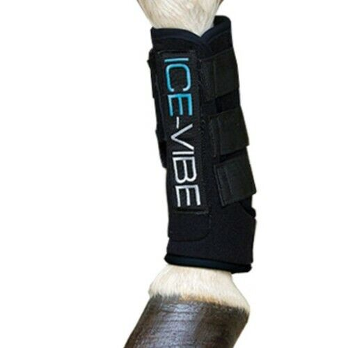Horseware ICE-VIBE Circulation Therapy Tendon Boots L Excellent Condition