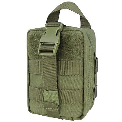 Condor 191031-001 OD Rip Away EMT Lite MOLLE Utility Pouch Medic Bag First Aid