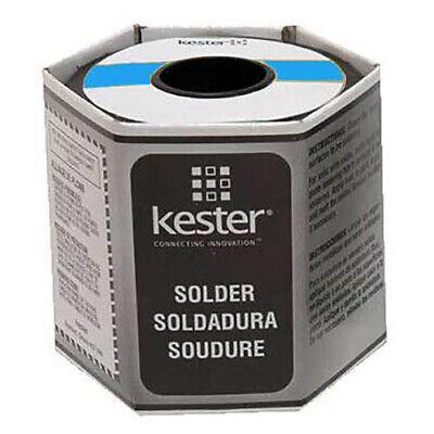 Kester 14-6040-0125 Solid Solder Wire 0.125 Dia 1 Lb Sn60pb40
