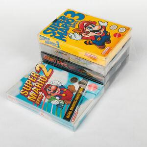 Protecteurs de plastiques résistants pour jeux vidéos Nintendo R
