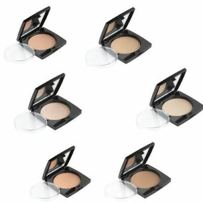 HD BROWS Foundation Pressed Mineral Powder Compact (Compact Powder Foundation)