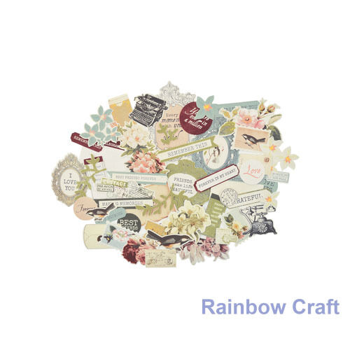 2016-2019 Kaisercraft Die Cuts Scrapbooking collectables 62 option Embellishment - Cherry Tree Lane