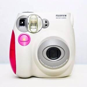 Fujifilm Instax Mini 7s Camera (Pink/white) Derrimut Brimbank Area Preview
