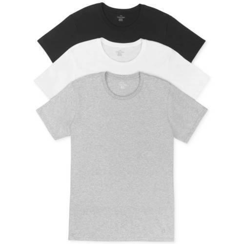 Crew Neck-Black/White/Gray