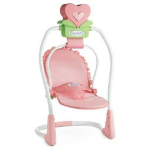 AMERICAN-GIRL-BITTY-BABY-SWING-CARRIER-SEAT-NIB-RETIRED-NO-X-DIRECTLY-FROM-AG