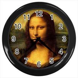 Leonardo Da Vinci Mona Lisa Wall Clock
