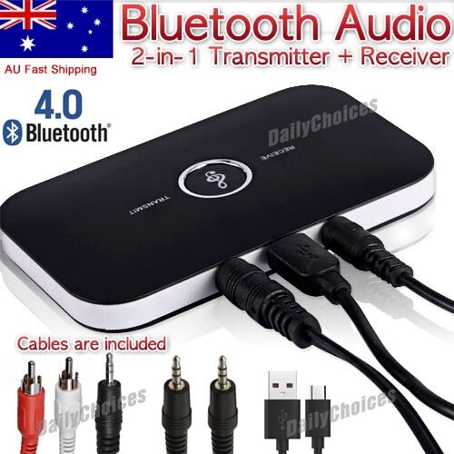 2 In1 NEW Wireless Audio Transmitter+Receiver 3.5mm AUX HIFI Music Adapter