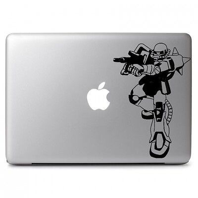 "Gundam Zaku II F2 Decal Sticker Skin for Apple Macbook Air Pro 13 15"" 17"" Laptop"