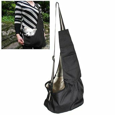 Pet Supplies Large Black Oxford Cloth Sling Dog Cat Carrier Bag New Gift Gi
