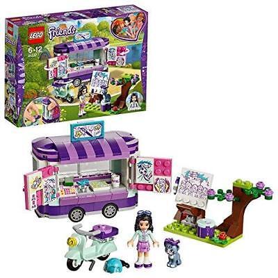 LEGO Friends 41332 Emmas rollender Kunst Kiosk Kinder Spielzeug für Mädchen ab 6 (Mädchen Spielzeug Lego)