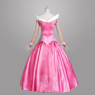 Chic Sleeping Beauty Princess Adult Women's Costume Aurora Gown Disney-Cosplay](Womens Sleeping Beauty Costume)
