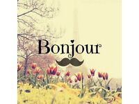 FRENCH TUITION IN EXCHANGE FOR CLEANING