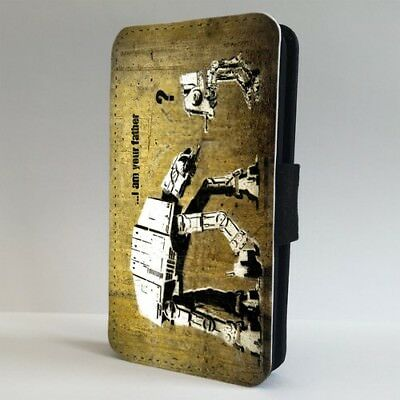 Banksy Funny Star Wars Art FLIP PHONE CASE COVER for IPHONE SAMSUNG