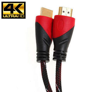 25FT High Speed HDMI Cable V1.4 for 4K UltraTV  Bluray PS4 with Ethernet 1080P