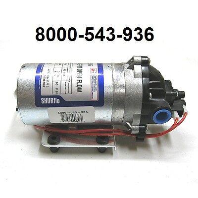 New Shurflo 12v Electric Rv Water Transfer Pump 1.8 Gpm 60 Psi 8000 543 936