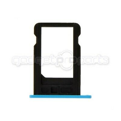 iPhone 5C Sim Tray (Blue) - FREE SAME DAY SHIP MON-SAT comprar usado  Enviando para Brazil