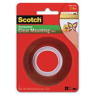 3m 410p Double-sided Mounting Tape Industrial Strength 1 X 60 Clearred