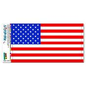 American Flag Car Magnet