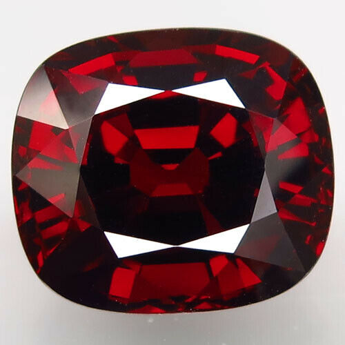 21.48Ct.Natural Orange Red Spessartite Garnet Africa Antique Unheated Certified!