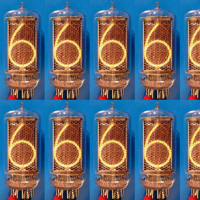 Z5660M Nixie Röhre Röhren NOS tube tubes f. Uhr clock NEW matched tested Z566M