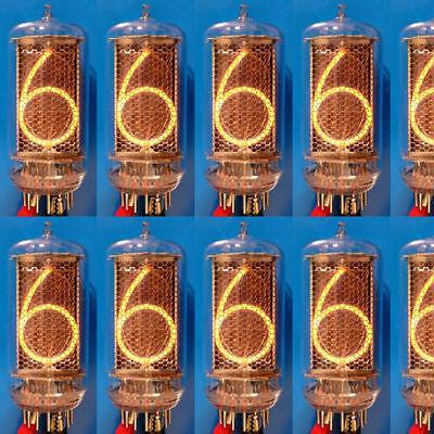 Z5660M Nixie Röhre Röhren NOS tube tubes f. Uhr clock NEW matched tested Z566M