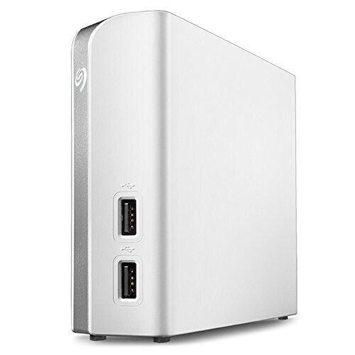 Seagate Backup Plus Hub for Mac 8TB External USB 3.0 Portable Hard Drive White STEM8000400