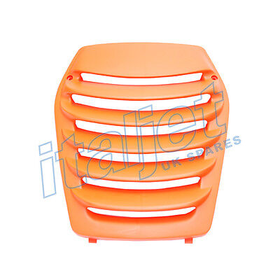 Italjet Dragster 50/125/180cc Front Shield Grill / Grille Orange