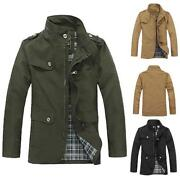 Mens Military Style Jackets