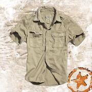 Mens Vintage Short Sleeve Shirt