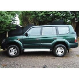 2002 Toyota Land Cruiser parts breaking