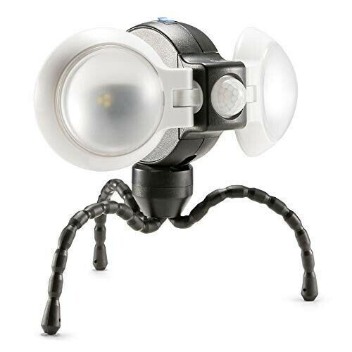 Weather Resistant Portable Double LED Light with Motion Sens