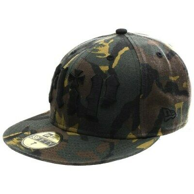 NEW Flip HKD New Era Fitted Cap Hat - Camo