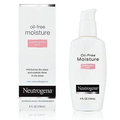 Neutrogena Oil Free Moisture Combination Skin 118 ml Best Skin Care Moisturiser