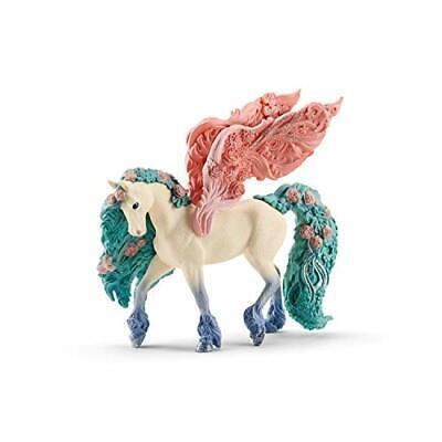Schleich bayala Sparkle Flower Pegasus Toy Figurine for Kids Ages 5-12