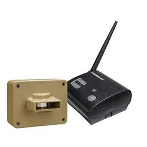 New  Chamberlain CWA2000C Weatherproof Outdoor/Driveway Wireless Motion Alarm Condition: New,  and Alert System, Incl...