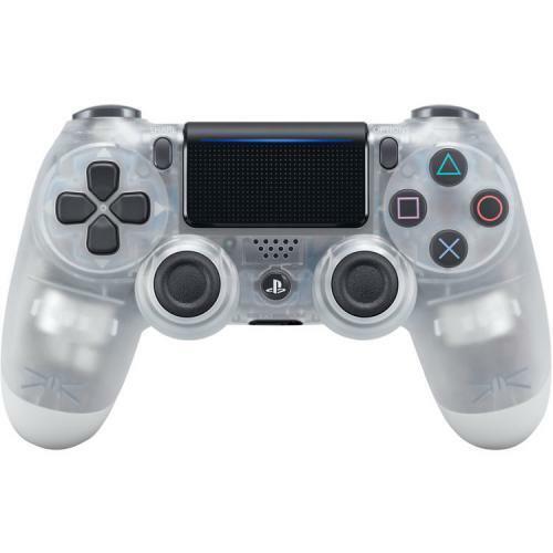 Sony DualShock 4 Wireless Controller Crystal  -  Wireless - Bluetooth - USB