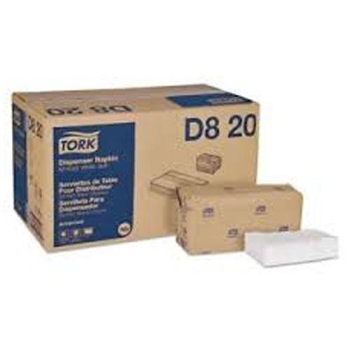 """Tork D820 Advanced Soft Minifold Dispenser Napkin, 1ply 13""""X12"""" White 6000 pcs."""
