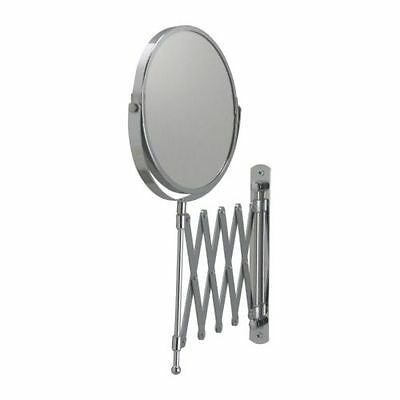 IKEA Wall Mount Shaving Make up Bath Bathroom Magnifying Mirror, stainless steel