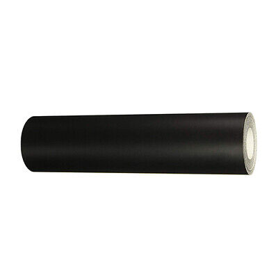 2.5 Mils Thick Permanent Vinyl Roll 1 Pack Matte Black 12 In X 6 Ft