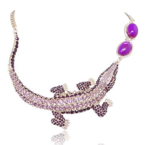 Crocodile Tooth Necklace: Alligator Necklace