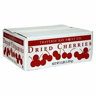 Cherries Traverse Bay Dried Tart Cherries 4 Lb Box NIB Cherry Pitted Fruit