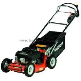 kubota w821 self propelled lawn mower {used once , like new }