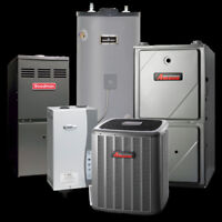 SAME DAY FURNACE, AIR CONDITION INSTALLATION (Oil To Gas PROS)