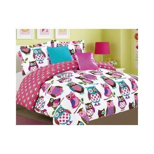 Owl Bedding Twin Ebay