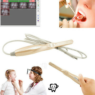 Dental Intraoral Oral Camera 4 Mega Pixels Dynamic 6-led Lights Usb 2.0us