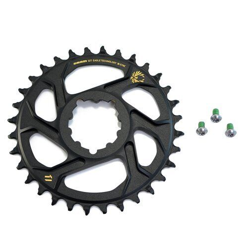 SRAM X-Sync 2 Eagle XX1 X01 Direct Mount 30T Chainring 6mm Offset 12 Speed,Black