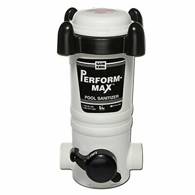 King Technology Above Ground Pool in-Line Chlorine Chemical Feeder - up to 20...