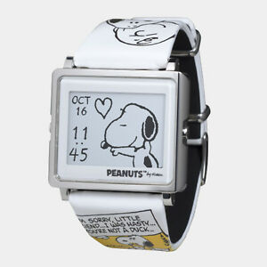 New epson smart canvas wow matrix epd digital watch peanuts snoopy japan f s ems for Snoopy watches