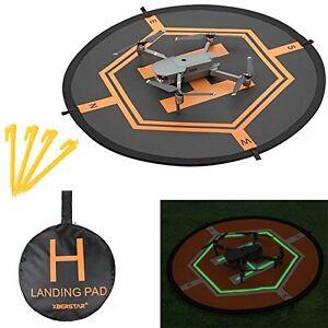 Drone landing pad 80CM large with pegs BNIB (DAY/NIGHT)